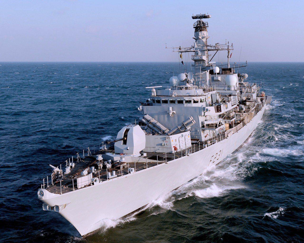 皇家海軍阿蓋爾號巡防艦。圖/維基百科