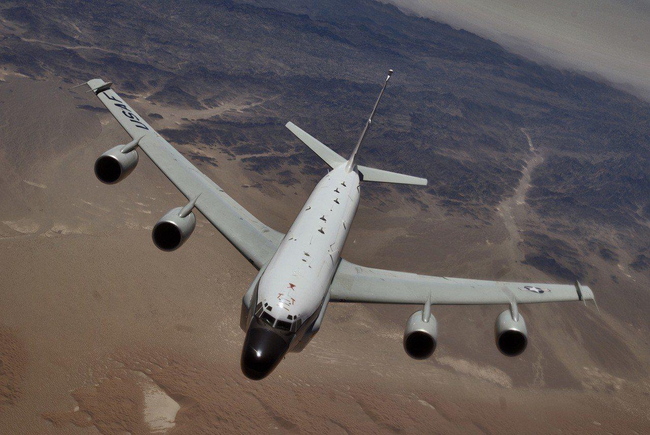 美國空軍RC-135電子偵察機。圖/維基百科