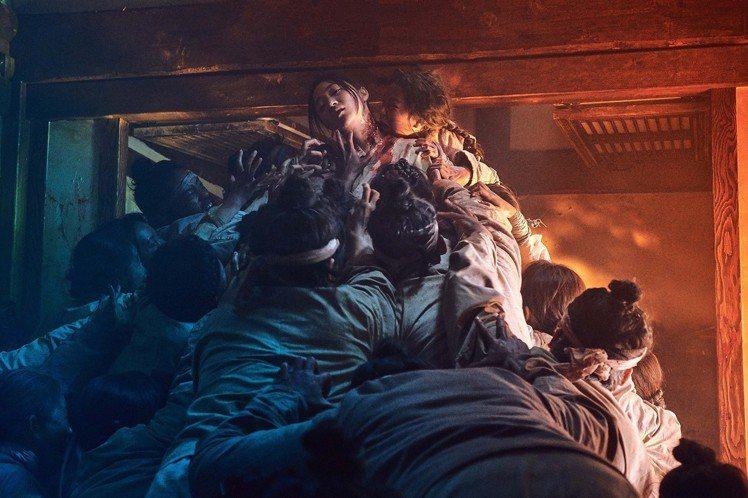 「李屍朝鮮」特效驚人。圖/Netflix提供