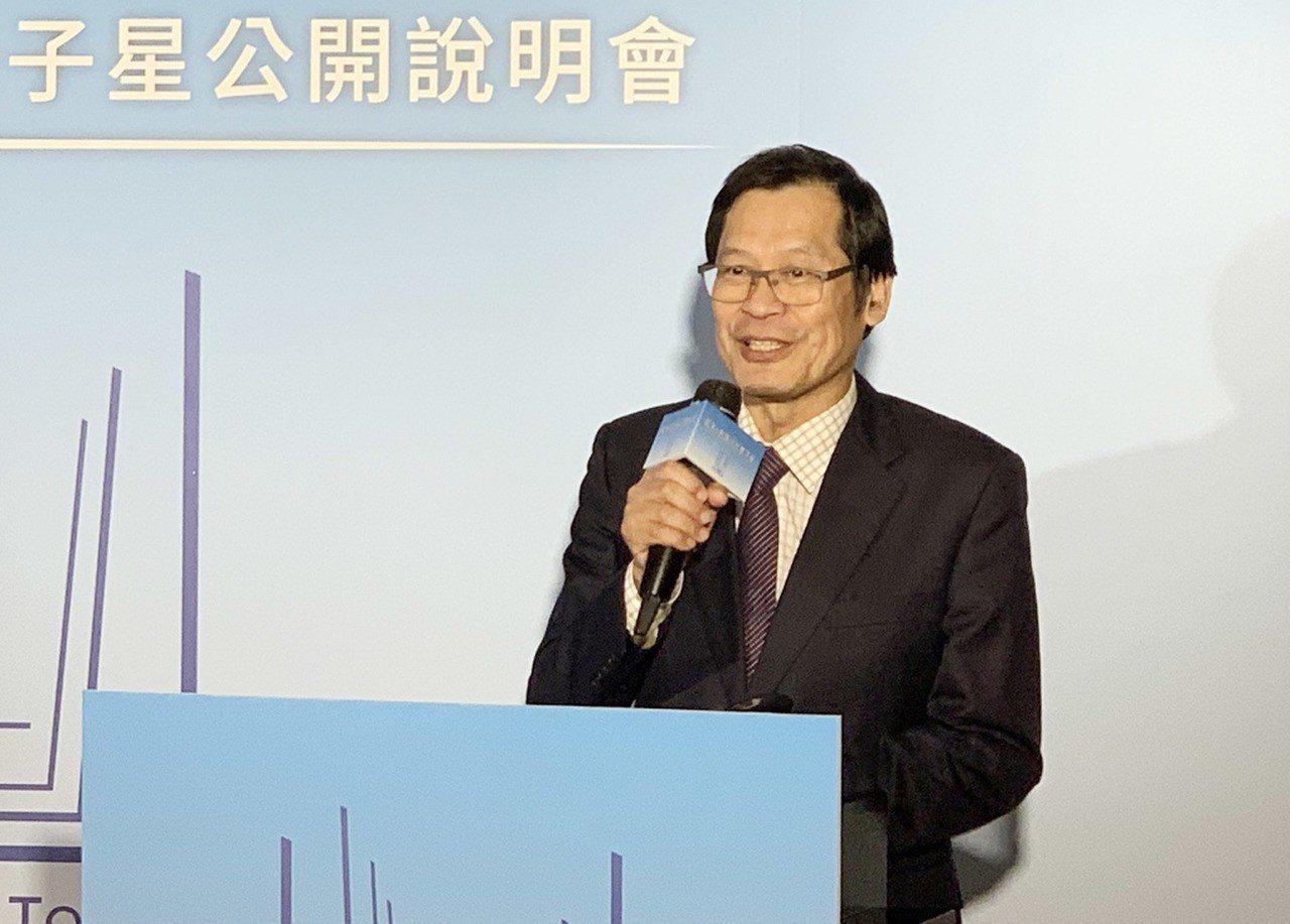 藍天電腦董事長許崑泰。 中央社