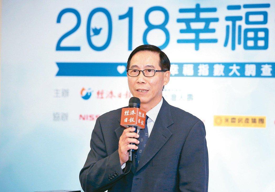 台灣人壽總經理莊中慶。 記者余承翰/攝影