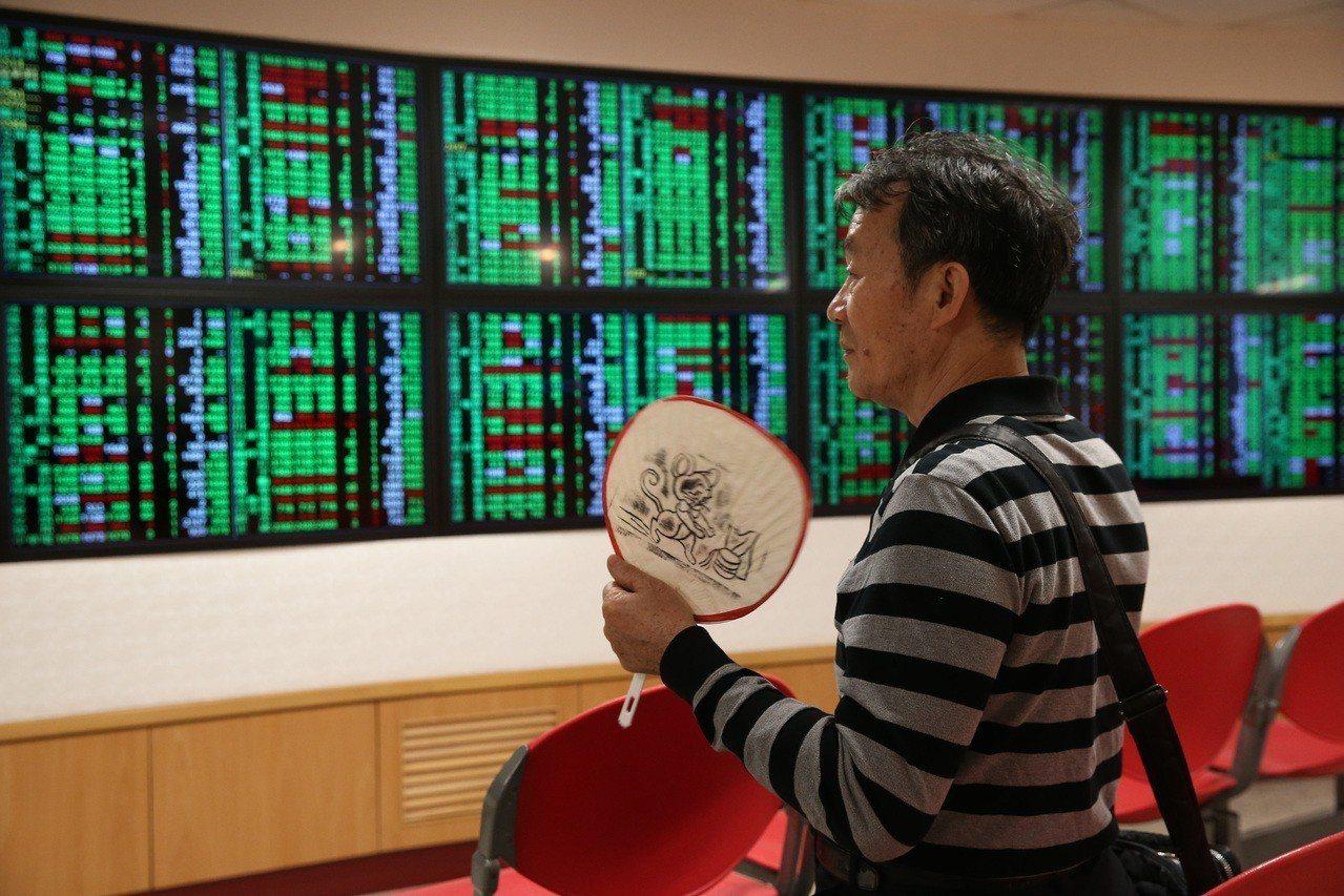 台股今(19)日上漲64.39點,成交量883.06億元。 聯合報系資料照/記者...
