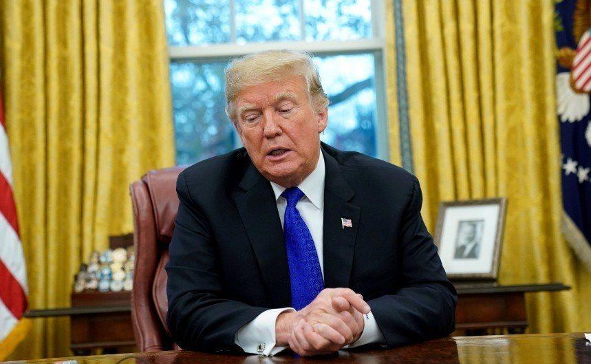 美國總統川普。 路透社