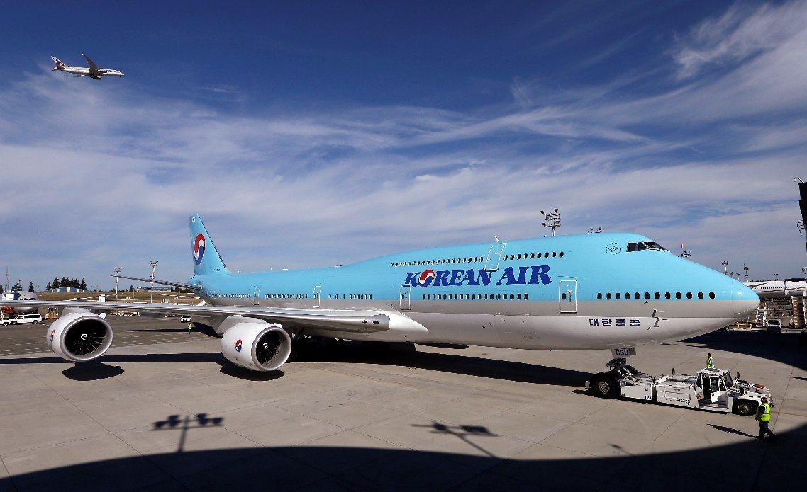 大韓航空。美聯社