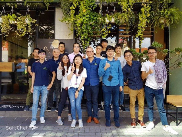 軟領科技團隊。 軟領科技/提供