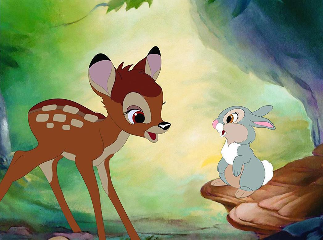 「小鹿斑比」是迪士尼最經典的動畫卡通之一。圖/摘自imdb