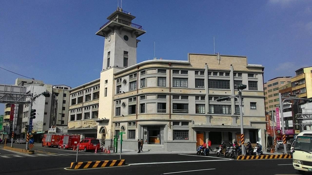 原台南合同廳舍,將整修成消防史料館。記者黃宣翰/攝影
