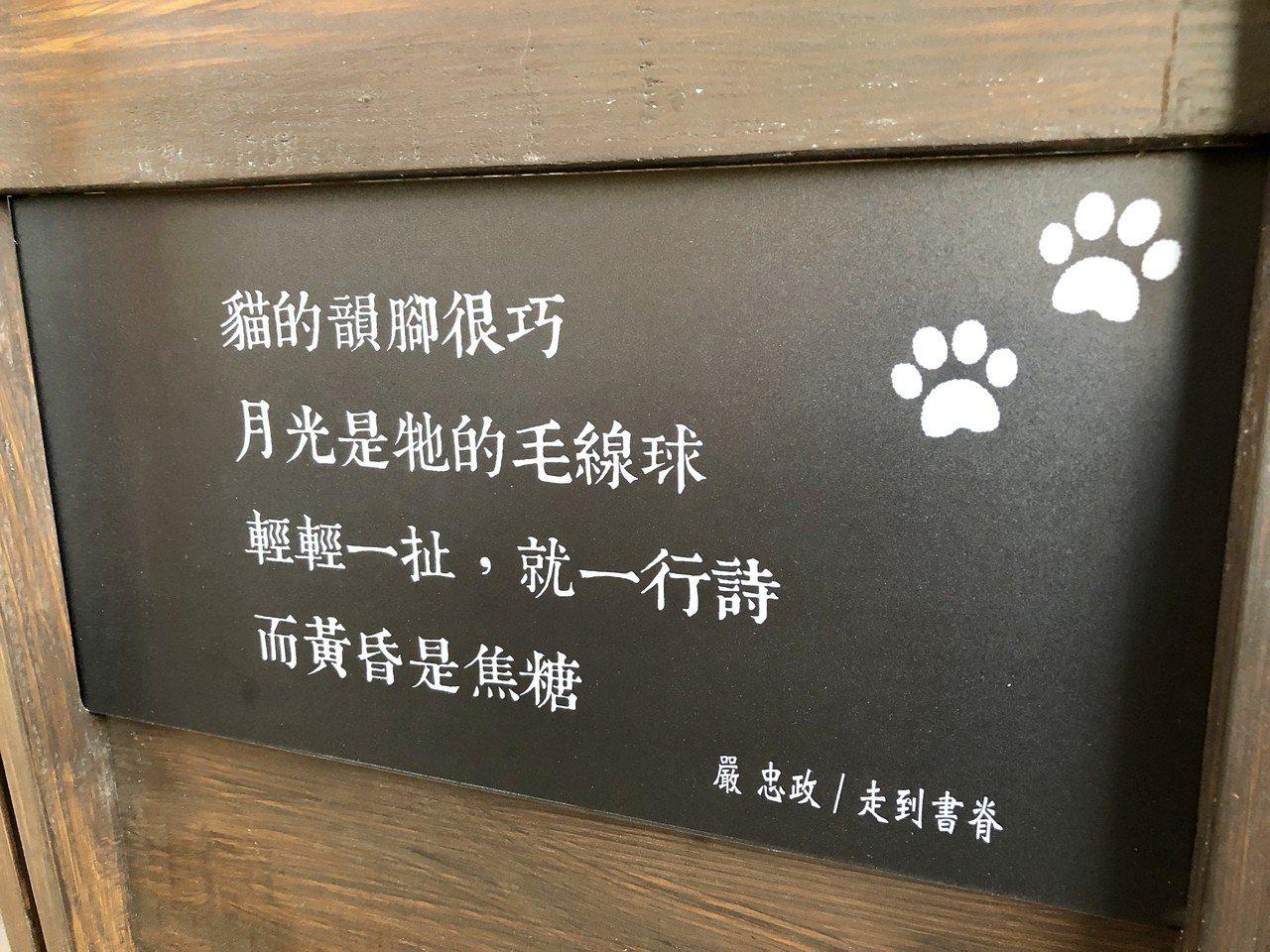 因為附近經常有野貓出現,將貓融入設計主軸,呼應園區既有空間記憶,也讓美好閱讀關係...