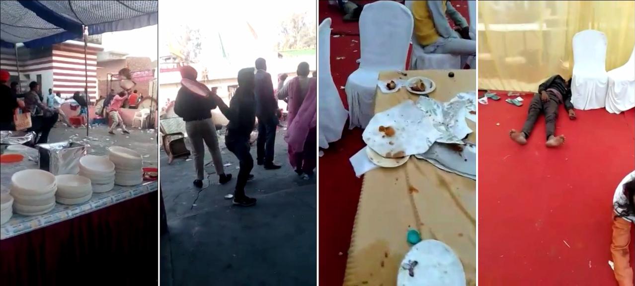 印度北部一場婚禮,提供酒類無限暢飲,食物卻不夠供應,喝醉的賓客因此暴怒砸場,形成...