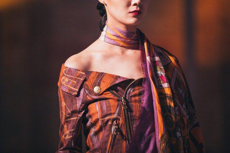 落肩剪裁為2018秋冬女裝的輪廓。圖/Daniel Wong提供
