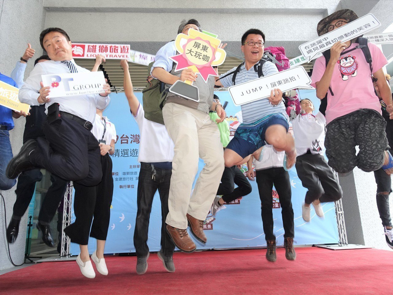 屏東縣政府昨起推出十大遊程,號召遊客可以開始安排到屏東旅行了。記者翁禎霞/攝影