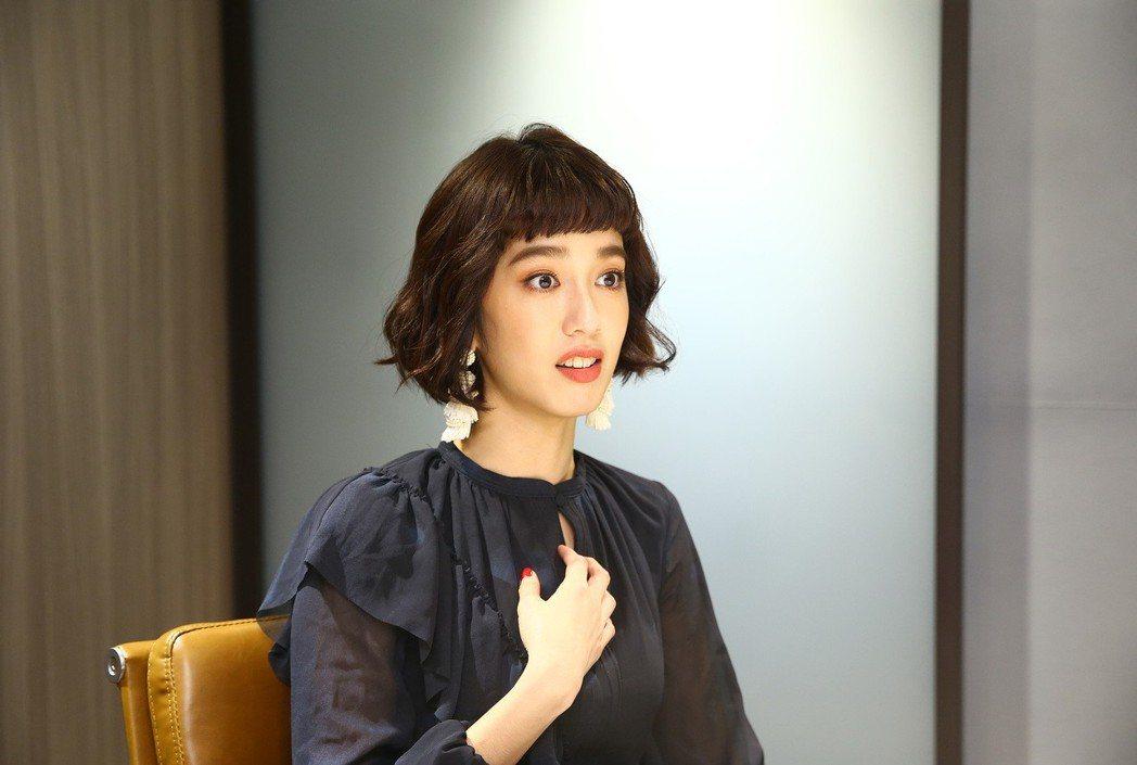 陳庭妮透露看2次「比悲傷更悲傷的故事」可以看到更多細節。記者陳柏亨/攝影