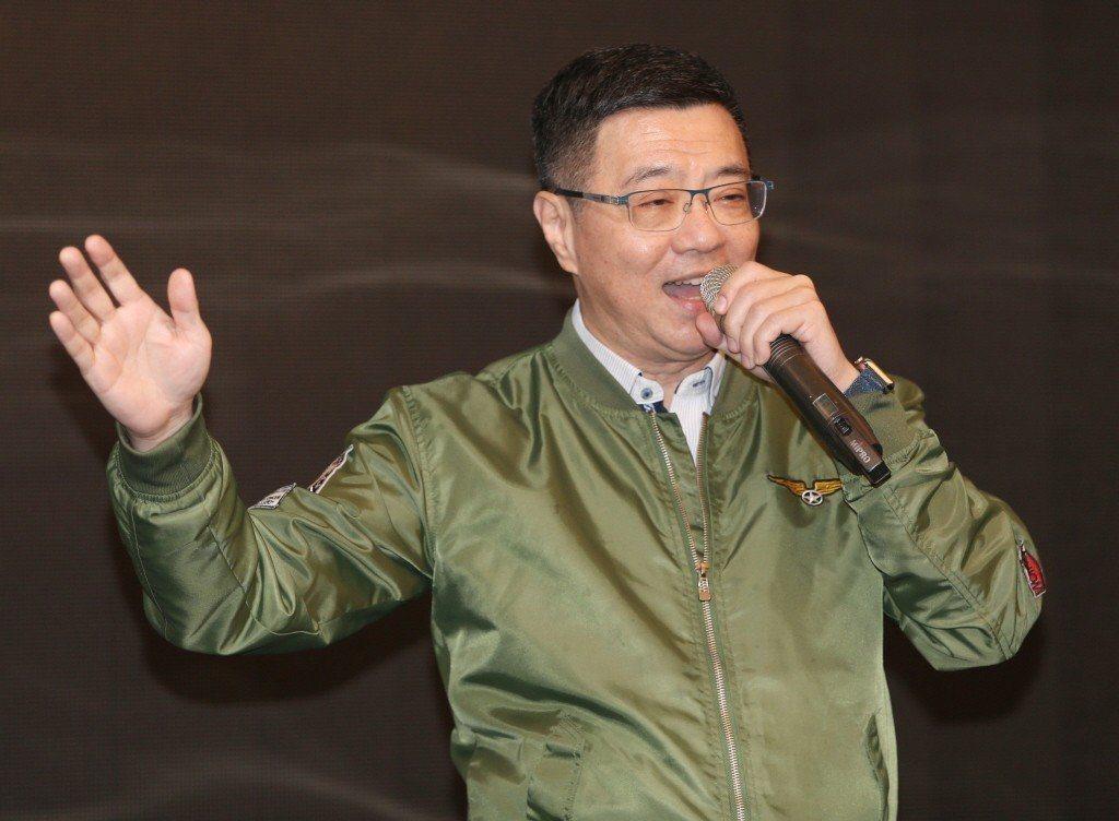 參選民進黨主席的行政院秘書長卓榮泰。聯合報系資料照