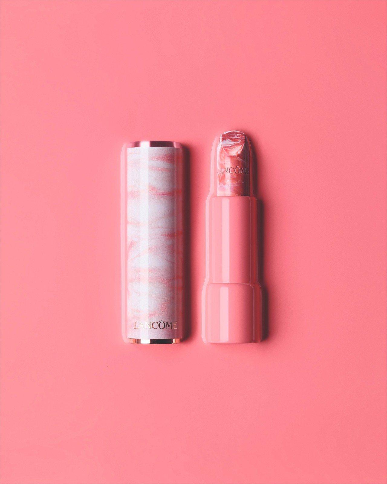 蘭蔻絕對完美玫瑰大理石潤色護唇膏玫瑰大理石,1,150元。圖/蘭蔻提供