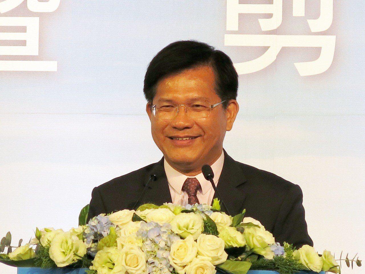 林佳龍傍晚在臉書宣布接任交通部長。圖/報系資料照