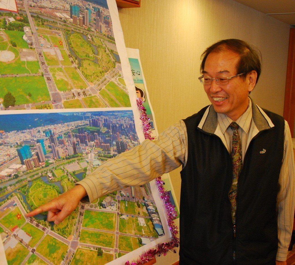 高雄市地政局長黃進雄是新市府團隊唯一留任在原單位的首長。聯合報系資料照片