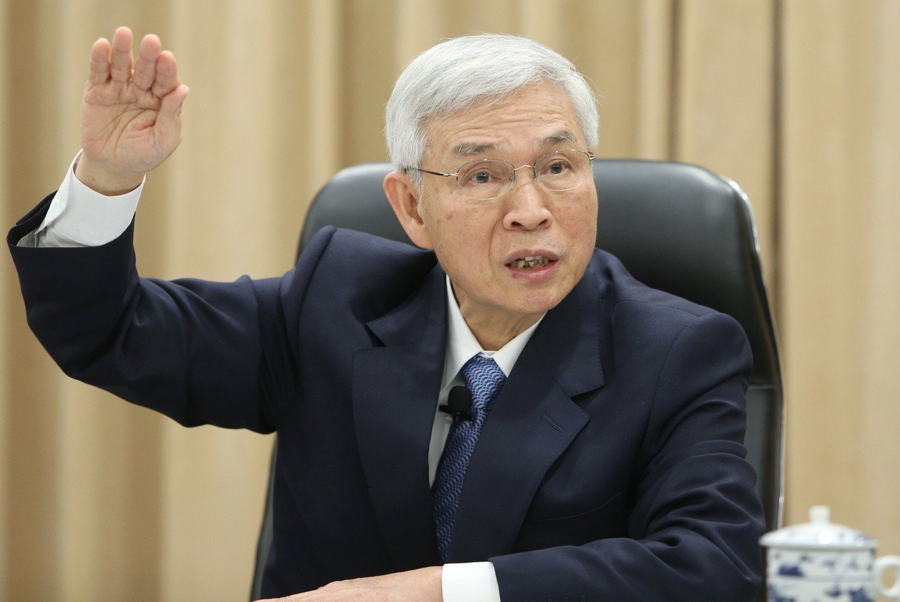 中央銀行總裁楊金龍昨天宣布,央行重貼現率連十季維持1.375%不變。記者侯永全/...