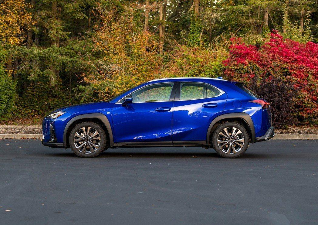 UX是Lexus在今年推出的隆重巨作。 摘自Lexus