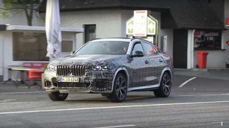 影/新世代BMW X6偽裝路試影片曝光 跑旅風格依舊強勁