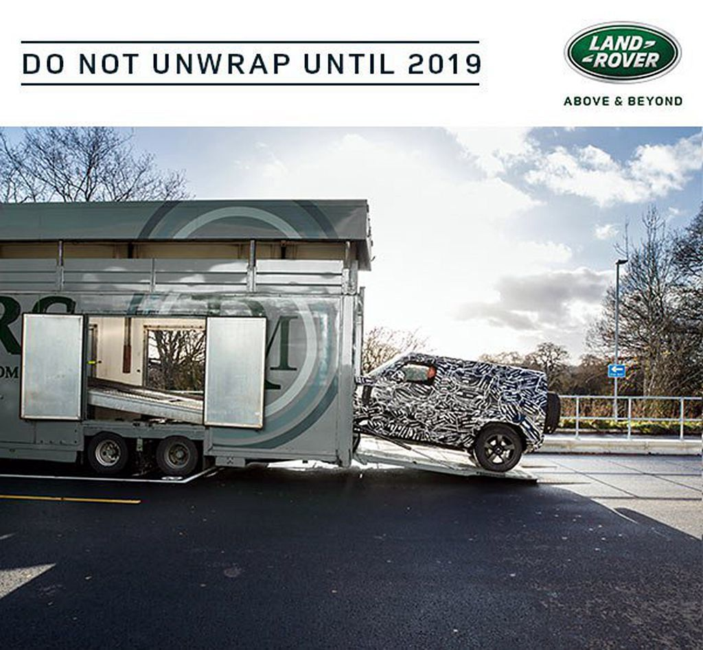 Land Rover無預警在官方粉絲團透露新世代Defender訊息,並提到「D...