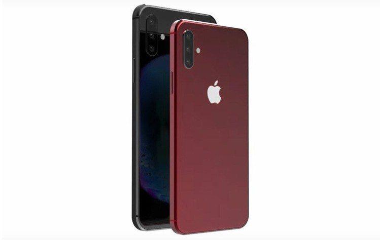 蘋果新機款渲染圖曝光,名稱就叫「iPhone XI」。圖片來源/Twitter