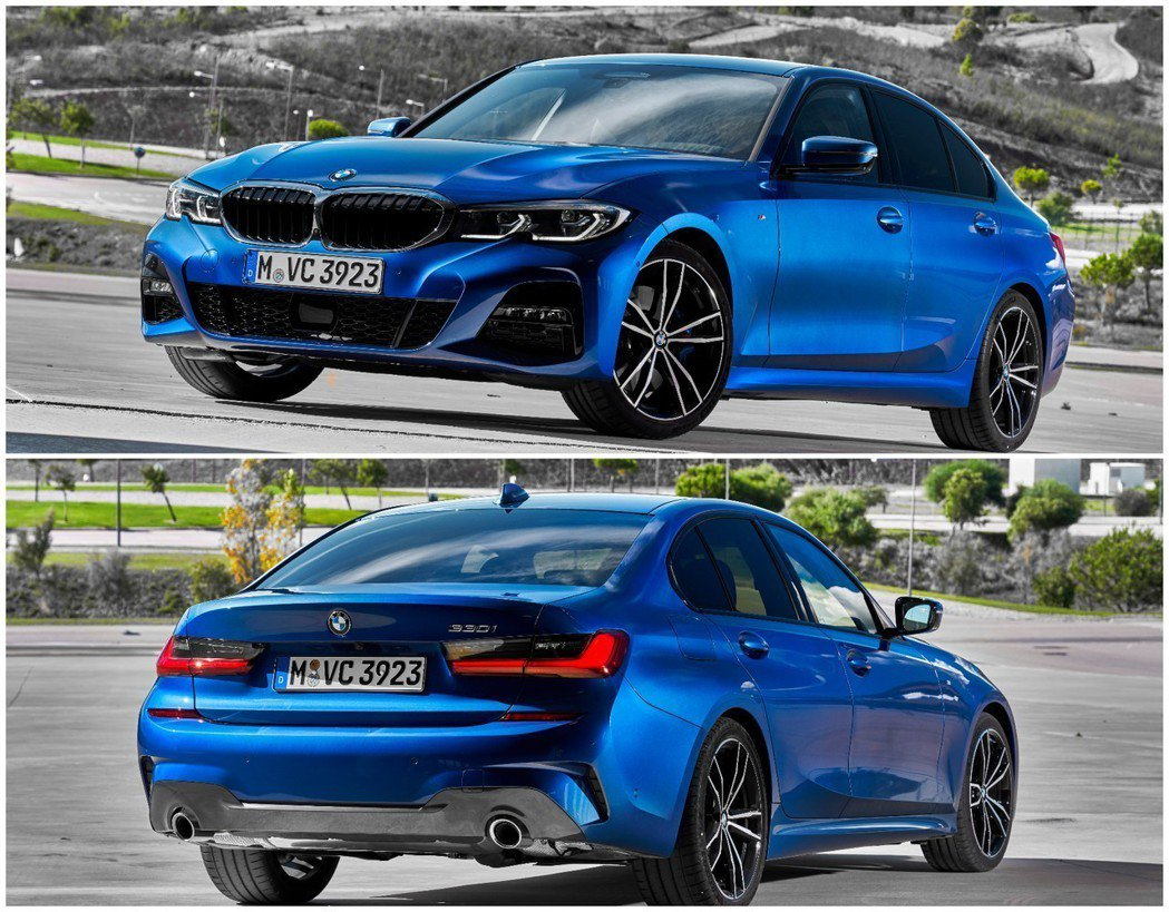 新世代BMW 3-Series Sedan(G20)。 摘自BMW