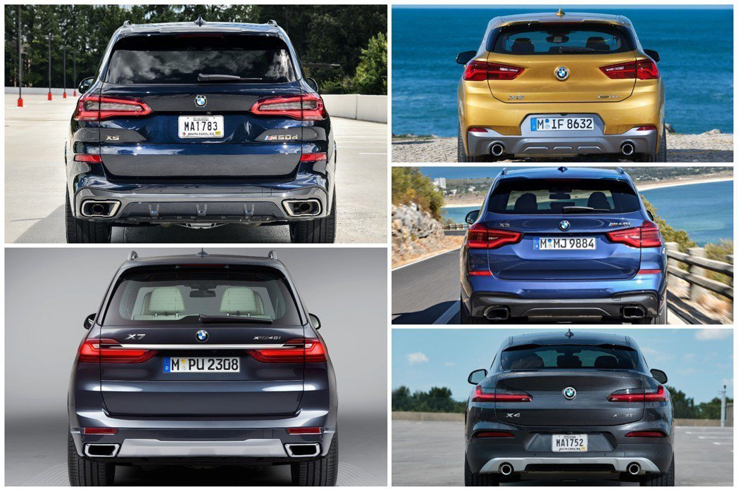 外觀受到大革新的X系列,是否讓你覺得耳目一新呢? 摘自BMW