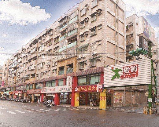 基隆商場目前由知名連鎖賣場承租中。 德天國際地產/提供