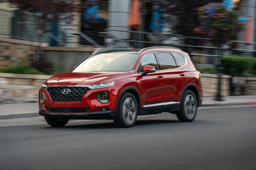 第四代Hyundai Santa Fe也將於今年導入國內販售。 摘自Hyunda...