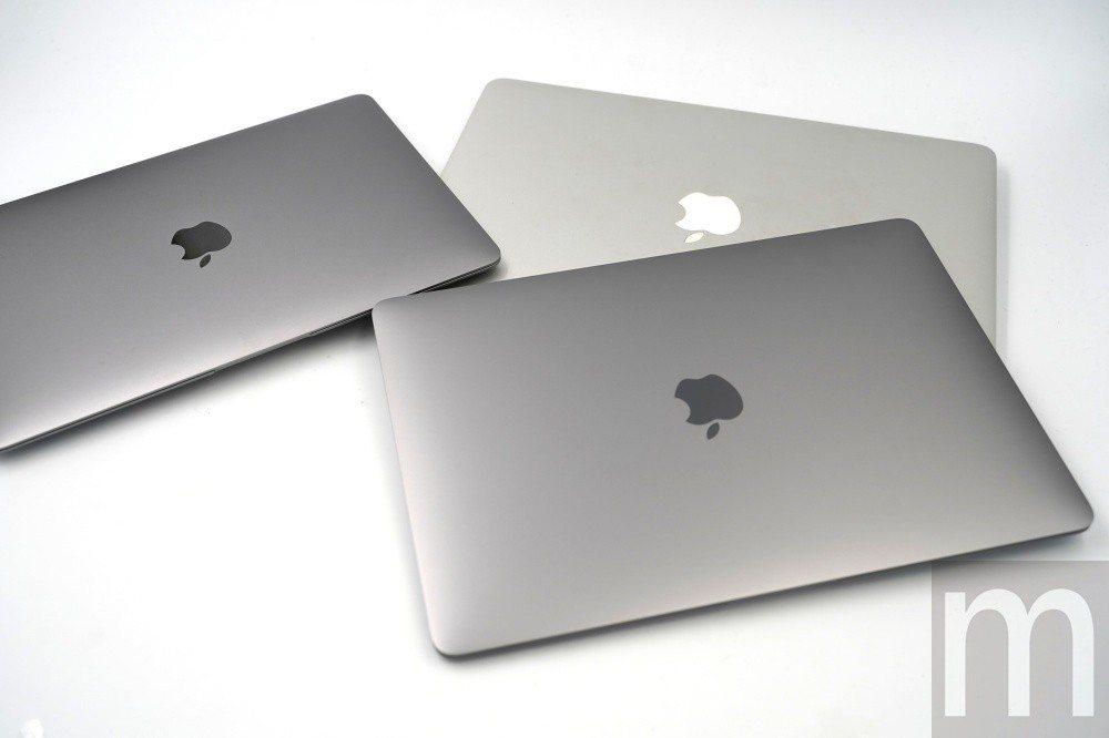與舊款MacBook Air、12吋MacBook外觀比較