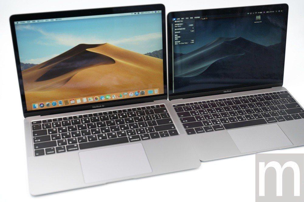 與12吋MacBook外觀比較