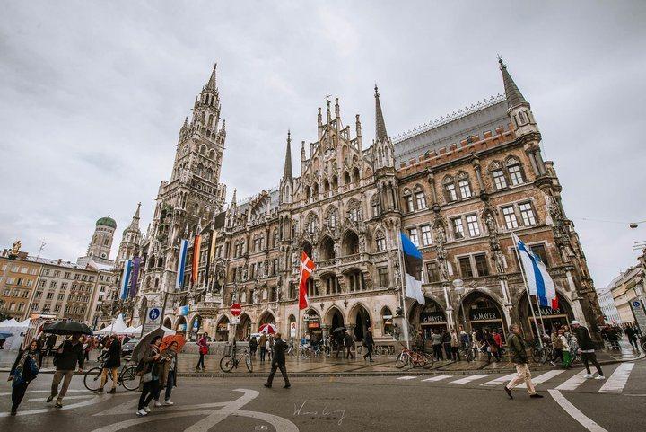 -慕尼黑市政廳。 圖/背包客棧