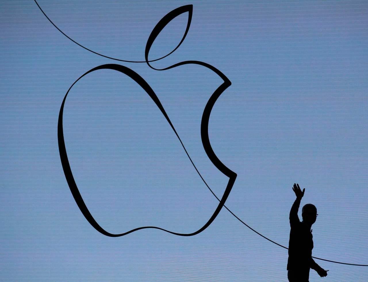 蘋果股價續下跌,但一些分析師仍看好服務事業將帶動蘋果股價回升。法新社