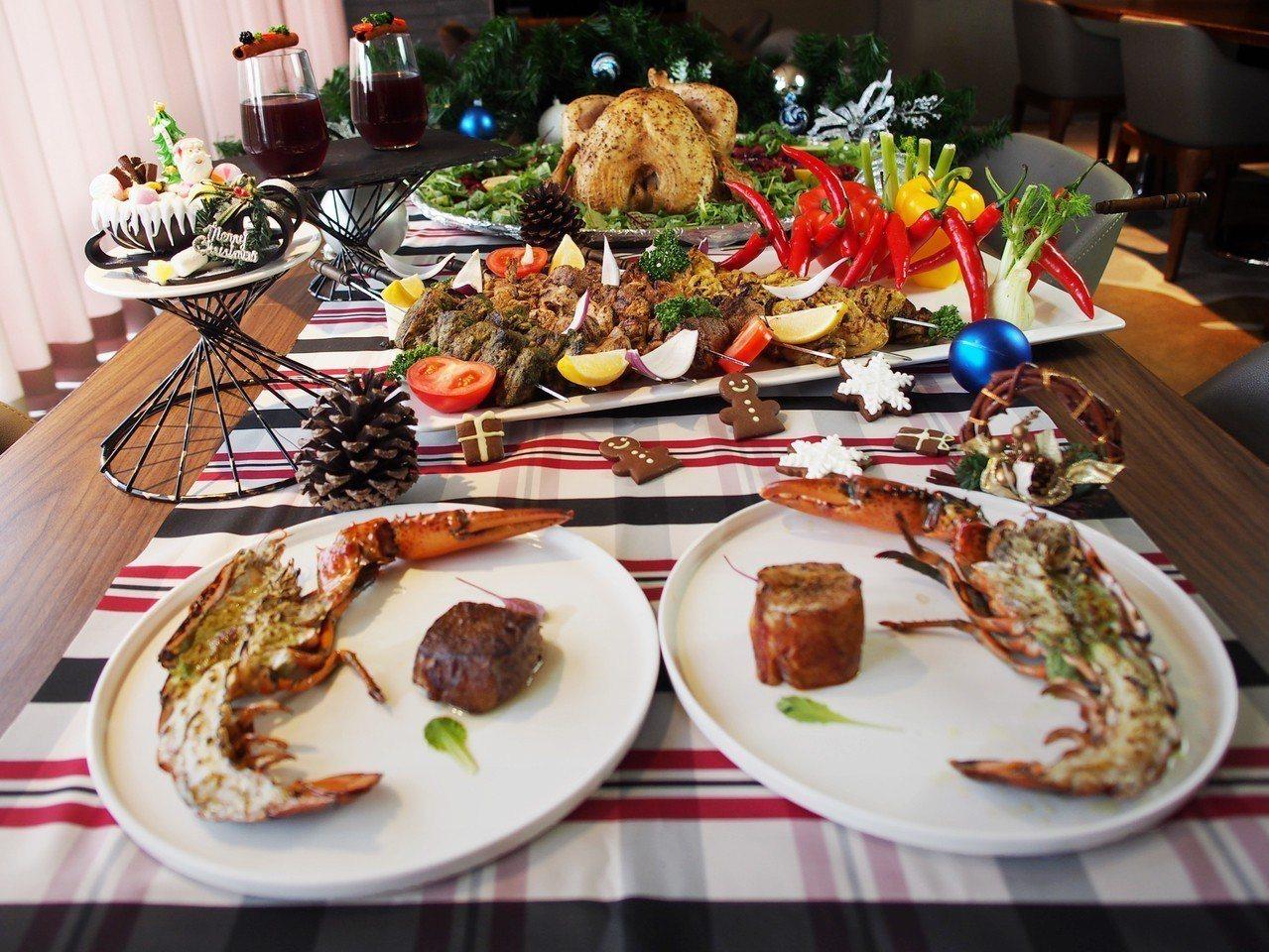 竹湖暐順麗緻文旅推出歲末年終「耶誕跨年盛宴」。竹湖暐順麗緻提供