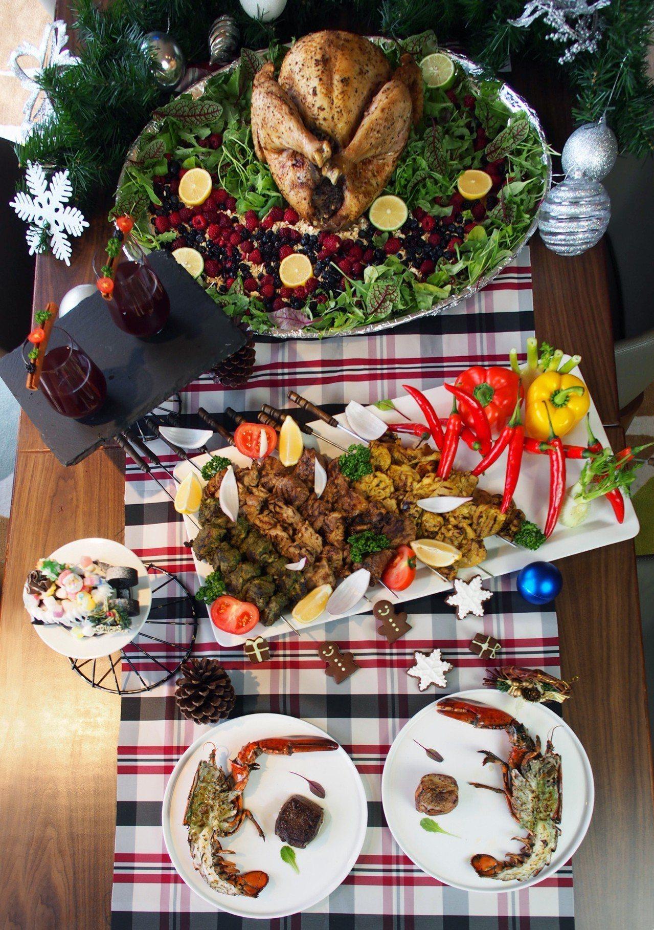 竹湖暐順麗緻文旅推出歲末年終「耶誕跨年盛宴」。圖/竹湖暐順麗緻提供