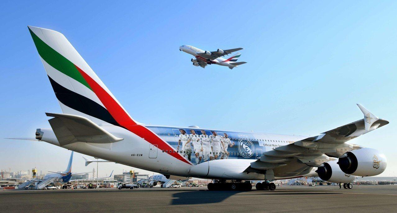 阿聯酋航空為西班牙皇家馬德里足球俱樂部的主要贊助商,於12月揭曉其最新皇家馬德里...