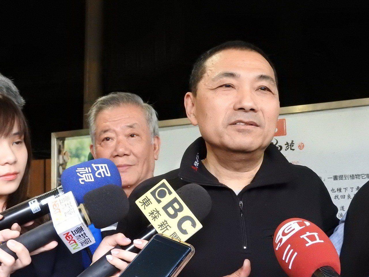 2018雙城論壇今天登場,台北市長柯文哲昨再提「兩岸一家親」,對此侯友宜辦公室發...