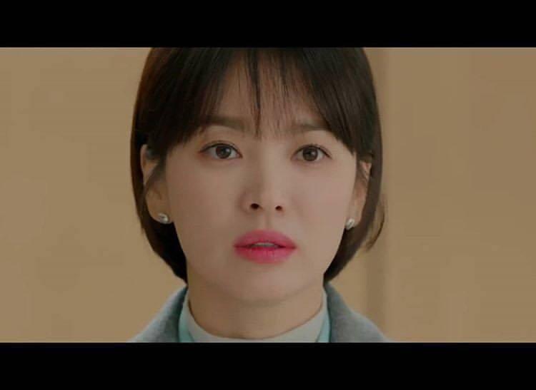 Chaumet品牌大使宋慧喬在韓劇《男朋友》中配戴Chaumet耳環。圖/取自I...