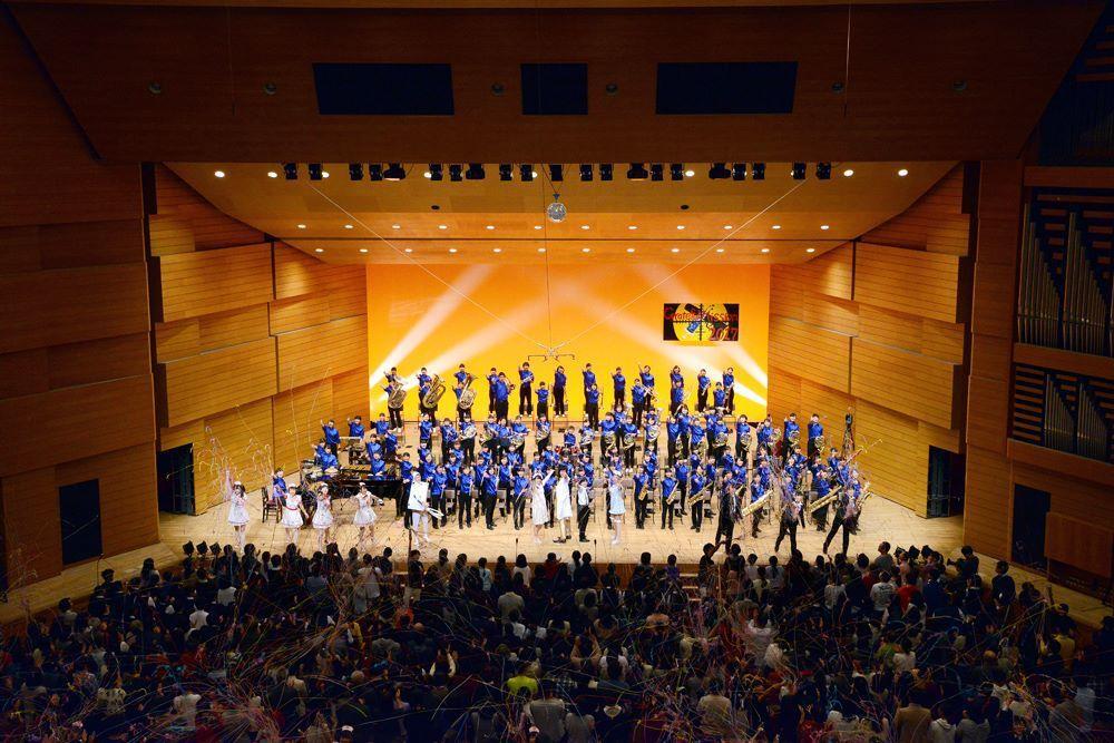 日本高校管樂團嘉義首演,22日故宮南院免費欣賞。圖/故宮南院提供