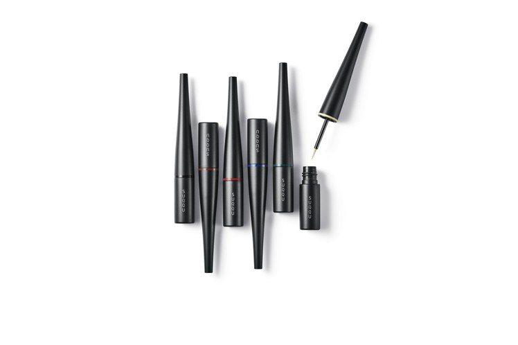 2019春妝SUQQU晶采艷色液狀眼線筆,新色4款、限定色2款各1,450元。圖...
