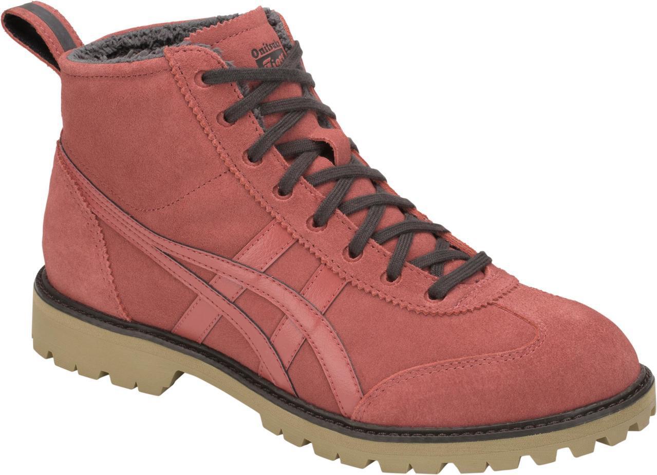 Onitsuka Tiger Rinkan Boot系列磚紅色短靴,3,900元...
