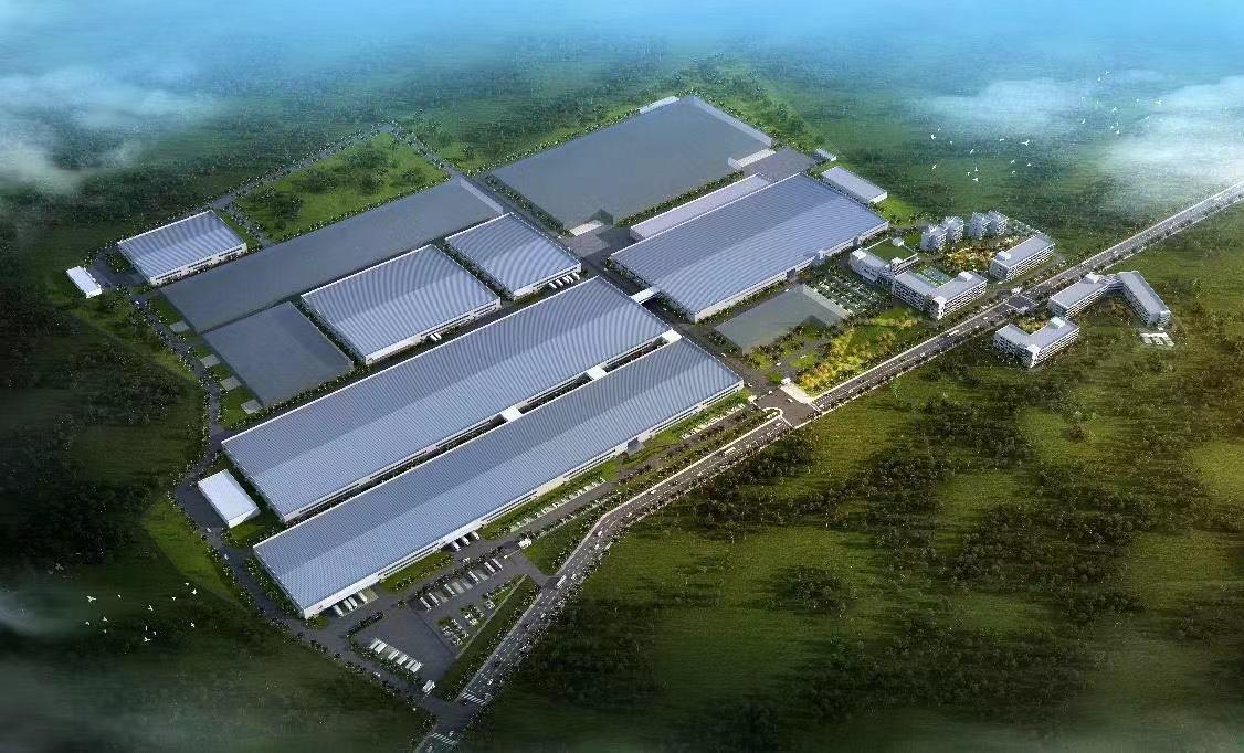 TCL印度產業園示意圖。第一財經日報