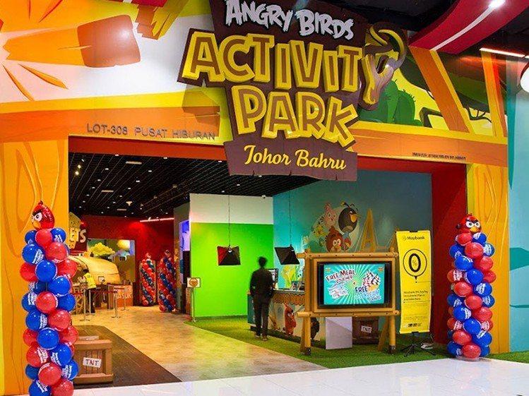 亞洲第一個室內憤怒鳥樂園,就位在柔佛州新山市中心。圖/馬來西亞觀光局提供
