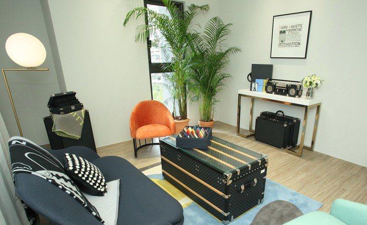 採預約制的展出備有Salon區供賓客休憩。圖/LV提供