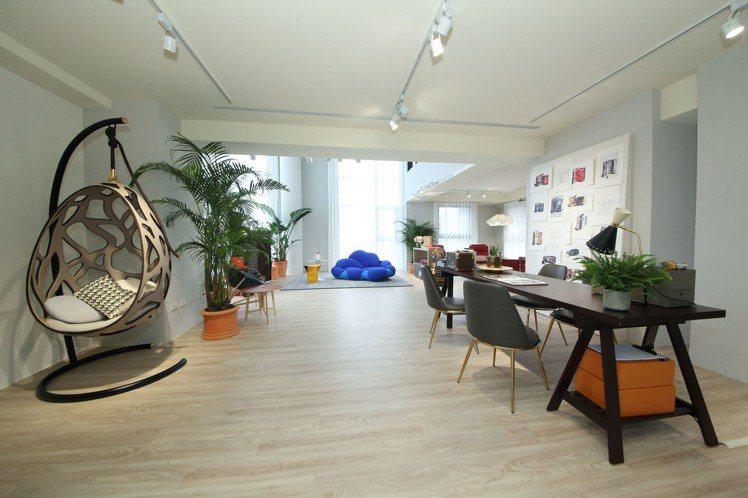 風格生活的樓層展示路易威登物件如何成為生活中畫龍點睛的裝飾。圖/LV提供