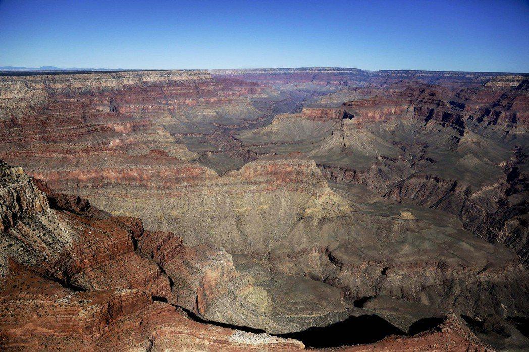 大峽谷國家公園明年將過100歲生日。 (美聯社)