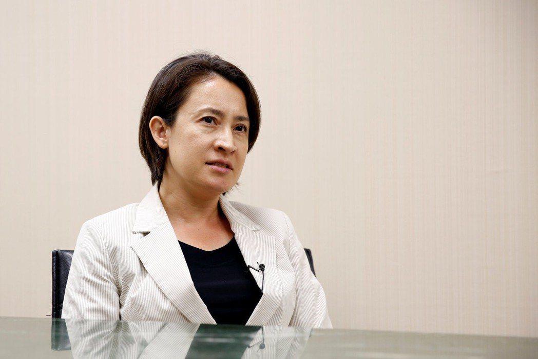 立委蕭美琴表示,理解蘇啟誠承受的壓力。圖/聯合報系資料照片