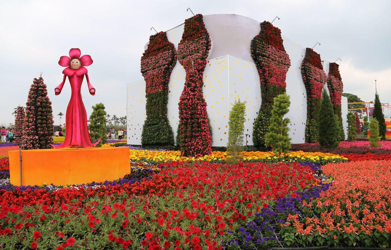 台中新社花海節每年吸引大批遊客。圖/台中市政府觀光旅遊局提供