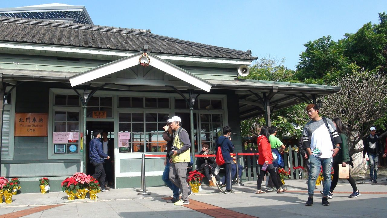 圖為北門驛車站。圖╱聯合報系資料照片