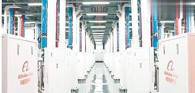 阿里巴巴自建數據港,高力的先進散熱技術居關鍵角色。 高力/提供